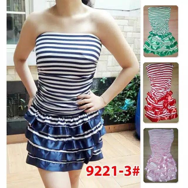 Jual Mini Dress Wanita Dress Kemben Dress Sexy 716 Harga Rp 130.000 -.  Source ... Dress Pesta   Gaun Fashion Import. 88886ae48c