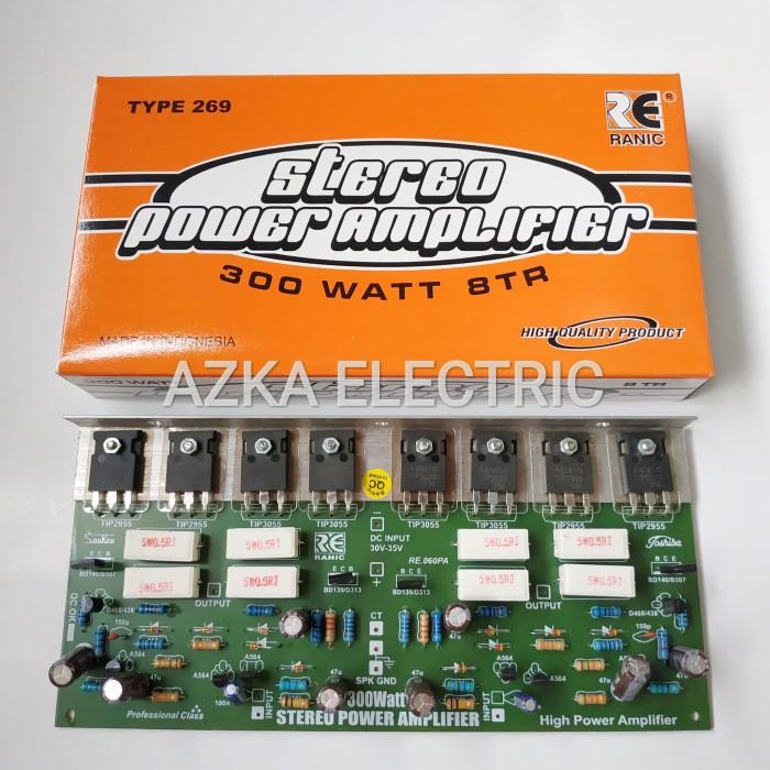 Jual Kit Power Amplifier OCL 300 Watt Stereo - Kota Bandung - Azka Electric  | Tokopedia