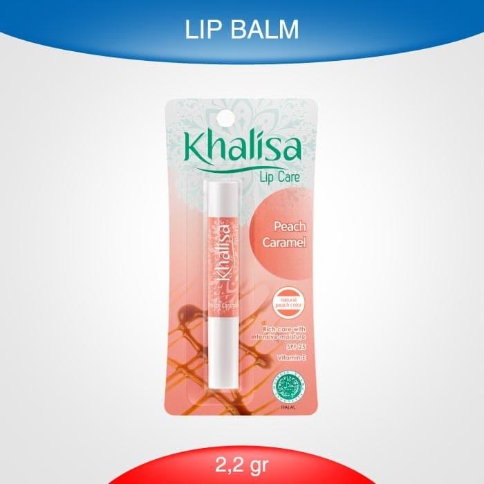 Foto Produk Khalisa Lip Balm Peach Caramel dari Rohto-Official-Store