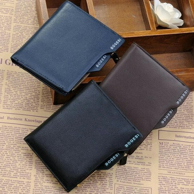 Jual Sale Bogesi Dompet Kulit Pria Leather Pu With Zipper - aldaput ... 6778fc5ea2