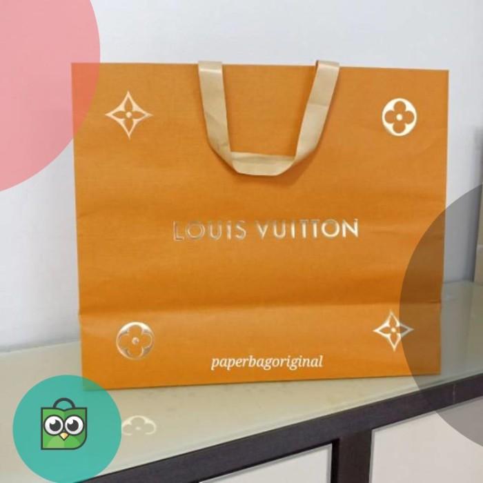 b4c2e12d547 Jual LV Paperbag Authentic Louis Vuitton original paper bag - Metaya ...