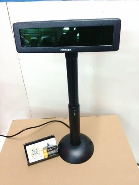 Jual CUSTOMER DISPLAY - POLE DISPLAY POSIFLEX PD 2800 - PD-2800 USB - Kota  Administrasi Jakarta Barat - Sanjaya21 | Tokopedia