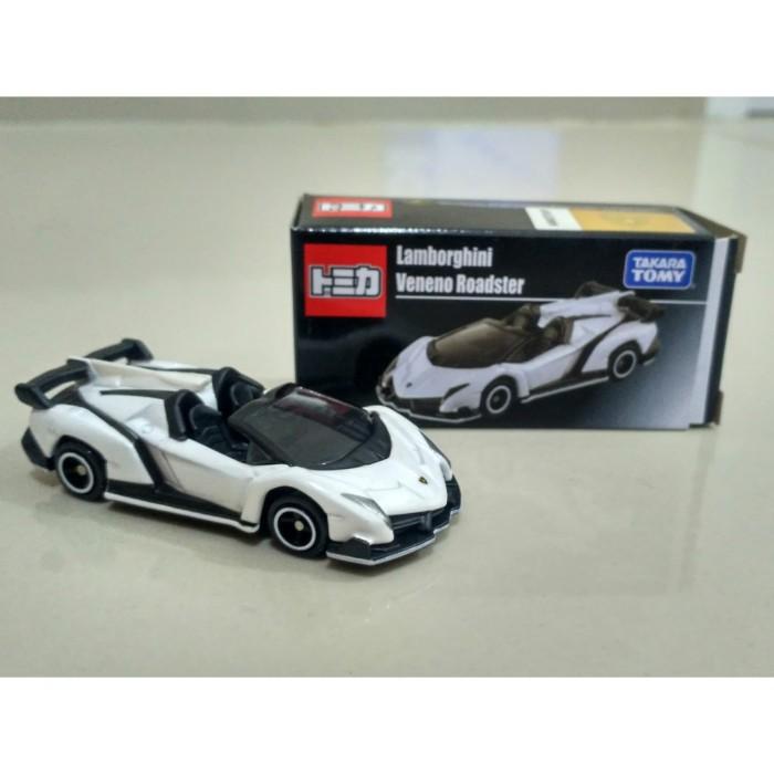 Jual Tomica Lamborghini Veneno Roadster White Not For Sale Edition