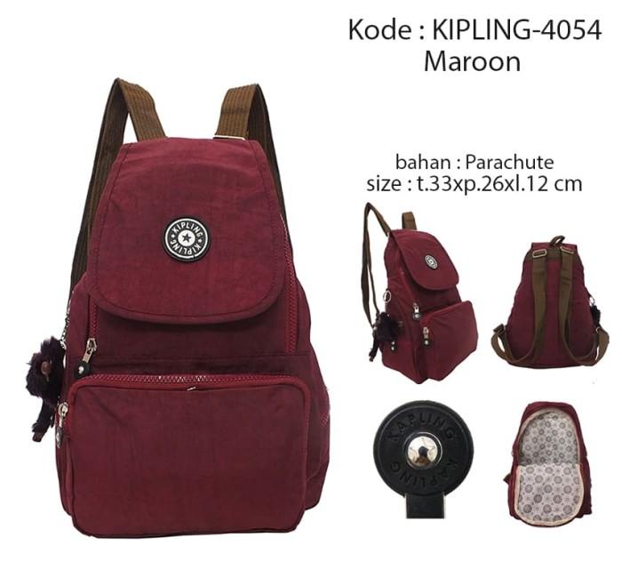 Jual Promo Termurah !! Tas Ransel Wanita Kipling 4054 Free Gantungan ... 077fb07de6