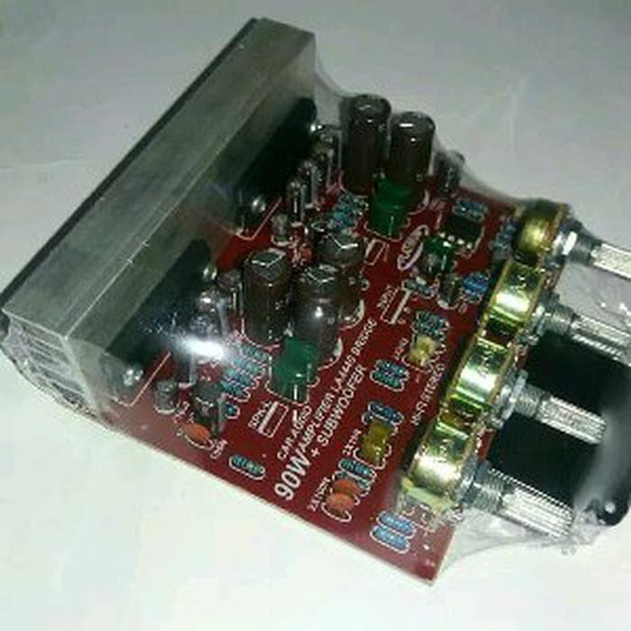 Jual KIT HiFi Stereo Amplifier Plus Subwoofer 90 Watt Platinum LA 4440 -  DKI Jakarta - demian prakasashop | Tokopedia