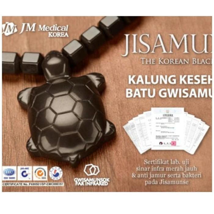 JISAMUNSE Kalung Kesehatan JM Medical Made in Korea (Batu Gwisamunsok)