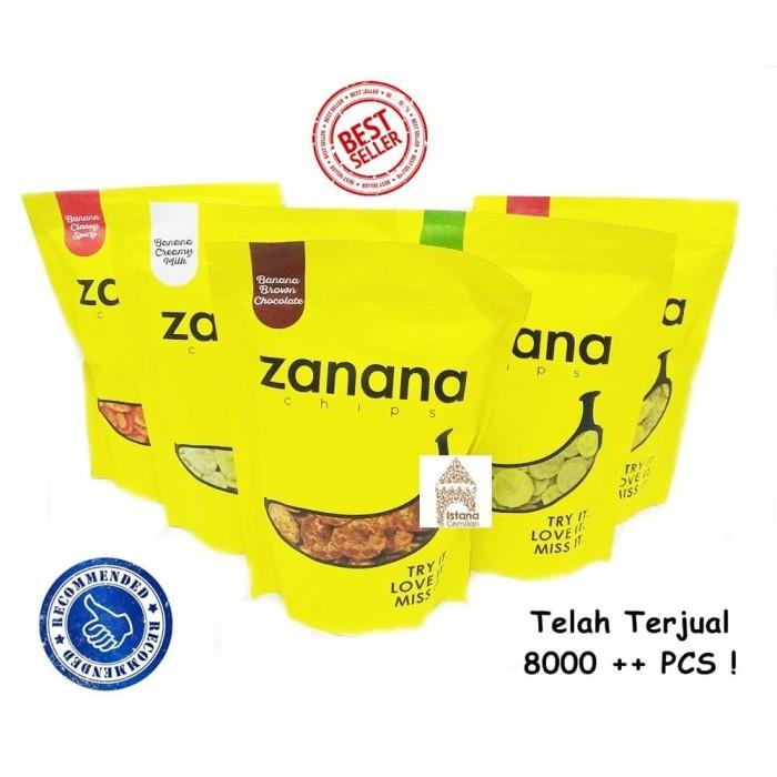 Jual Zanana Chips Keripik Pisang Ready All Varian Snack Makanan