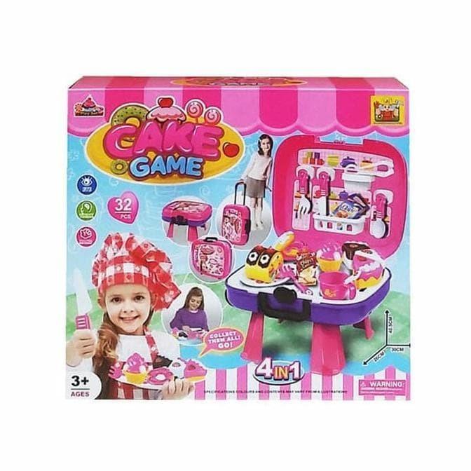 Jual Terlaris Mainan Masak Masakan Anak Perempuan Cooking Toy Hcs Cake Game Jakarta Selatan Flora Colection Tokopedia