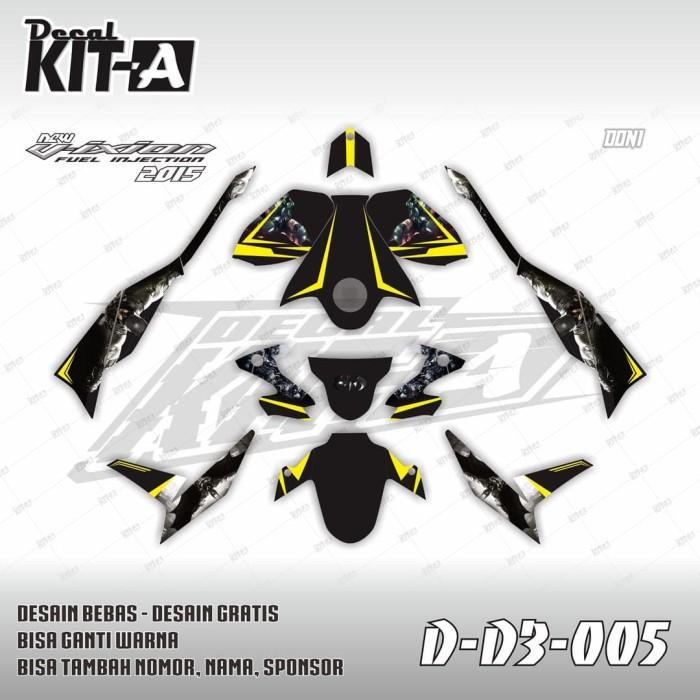 Jual Decal Stiker Motor New Vixion Advance Batman Striping Sticker Vixion Kota Salatiga Dekal Kita Tokopedia