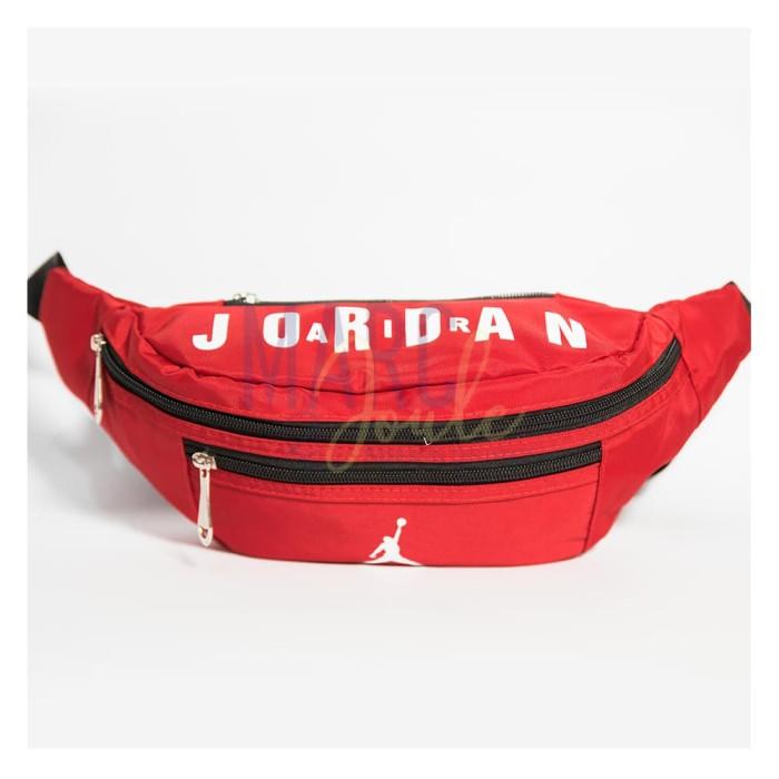 d031973119c Jual Nike Air Jordan Jump Man Basket Waist bag Jordan Training sport ...