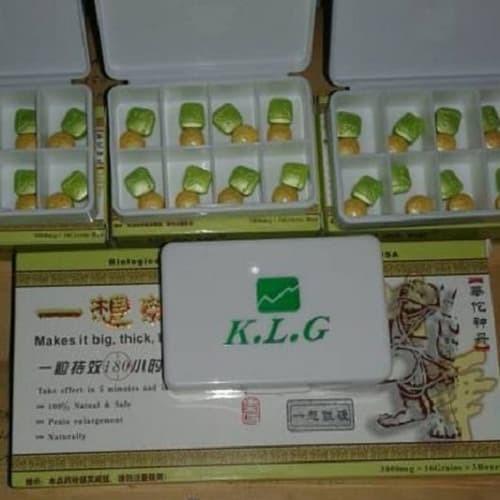 Klg pills asli - obat pembesar pria dewasa