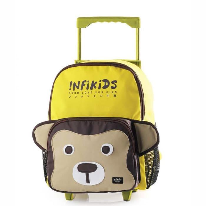 Tas Koper Sekolah Anak/ Trolley Bag Anak Infikids 401 IAC 107