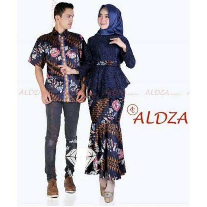 Jual Best Seller Stok Terbatas Couple Batik Rok Duyung Atasan Brukat