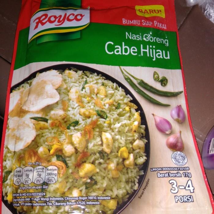 royco bumbu nasi goreng hijau