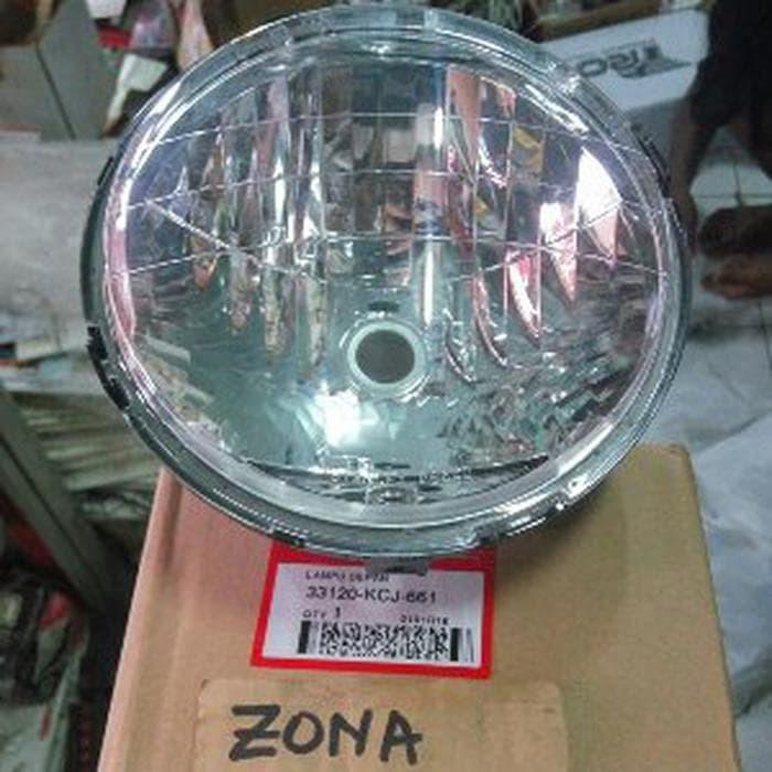Reflektor / Lampu Depan Tiger Revo Mata Satu (KCJ) AHM B16 N560