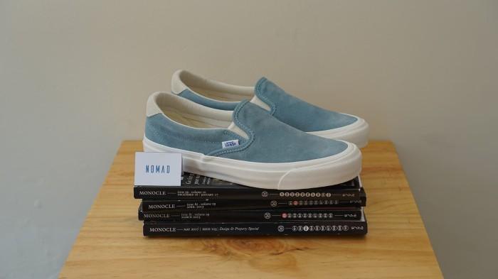 98551953b76 Jual Vans Vault OG Slip On 59 LX Smoke Blue Marshmallow - DKI ...