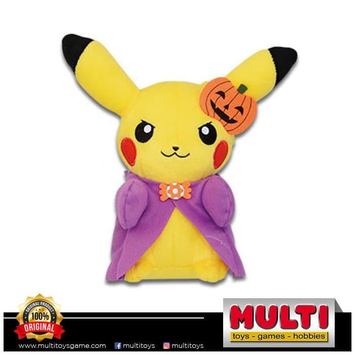 harga Pokemon sun & moon halloween pikachu plush c 38610 Tokopedia.com