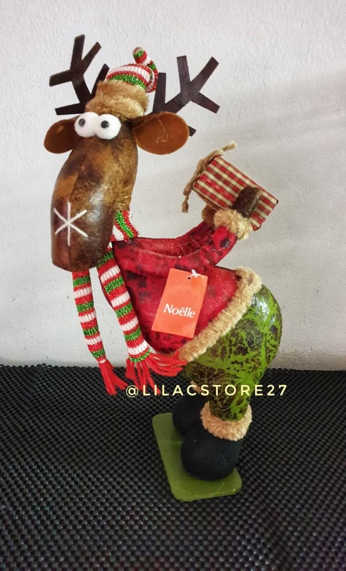 Jual Boneka Standing Deer Rusa Berdiri Natal Christmas Jakarta Selatan Lilacstore27