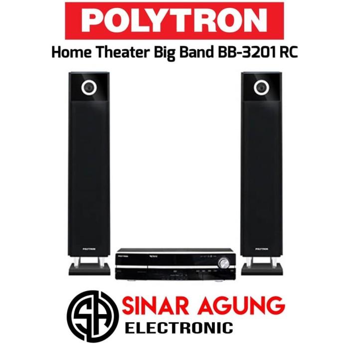 harga Polytron home theatre hifi big band bb-3201 rc resmi Tokopedia.com