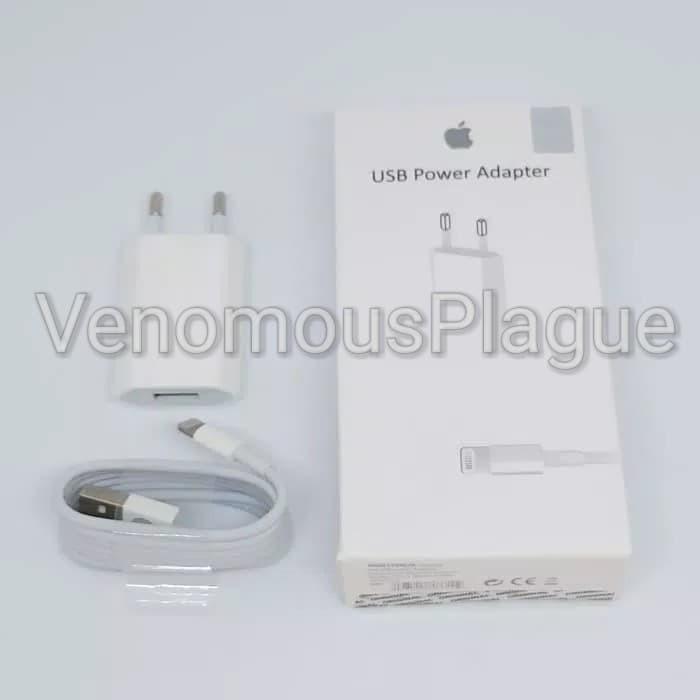 Charger + Kabel iPhone 5 5S 5C 6 6S 6+ 6S+ 7 7+ ORIGINAL Lightning