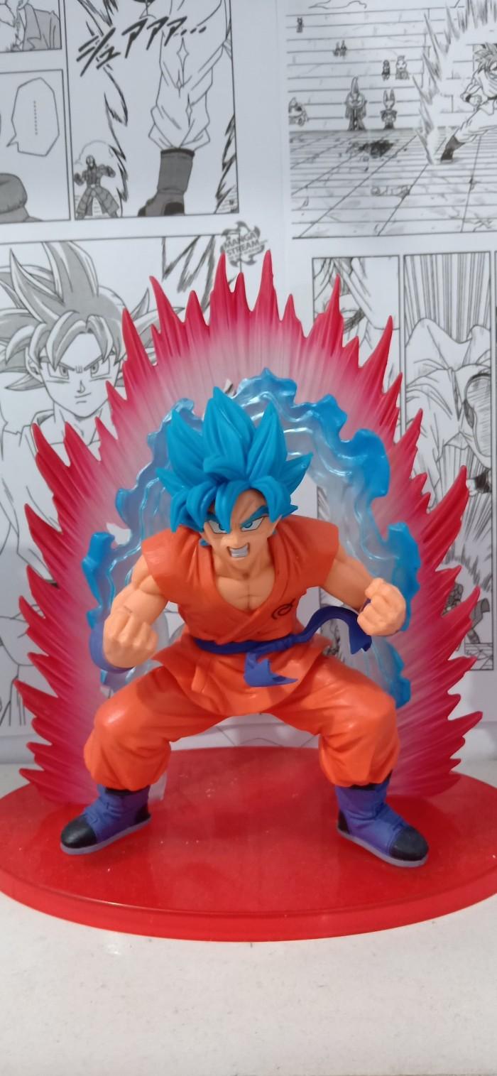 Jual Goku SSGS Kaioken Jakarta Pusat Shirafuji Collection