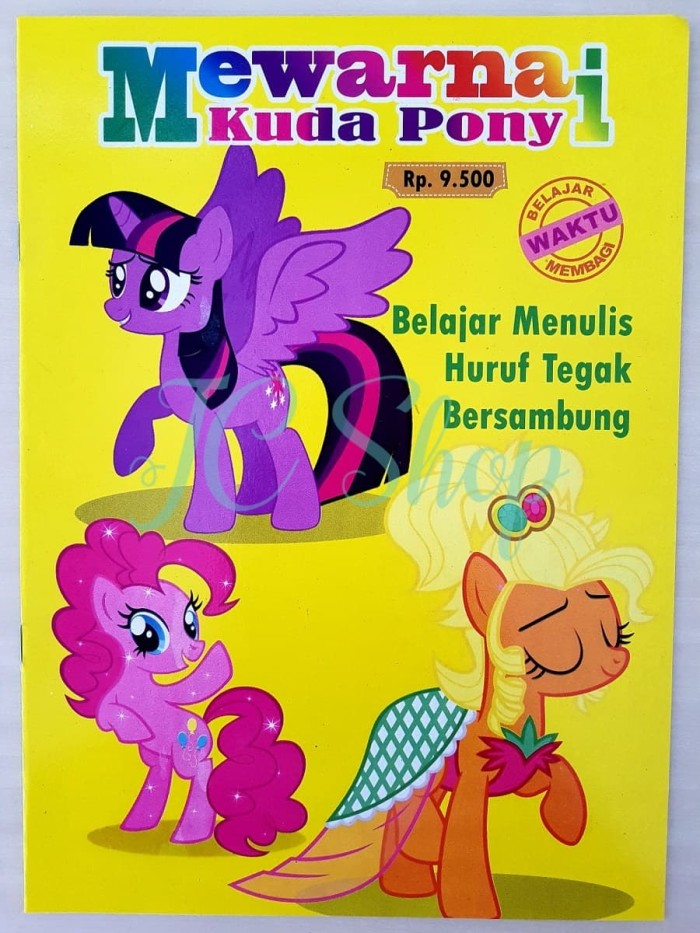 Jual Buku Mewarnai Kuda Pony Sambil Belajar Menulis Little Pony Kab Tangerang Jcshop168 Tokopedia