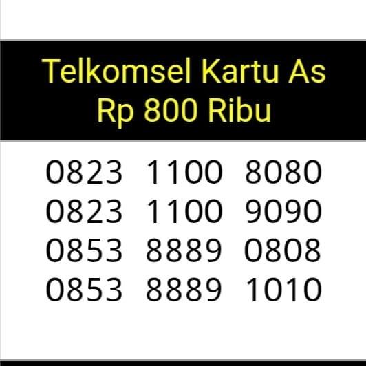 Nomor cantik kartu As(0823 1100 8080(9090(0853 8889 0808(1010