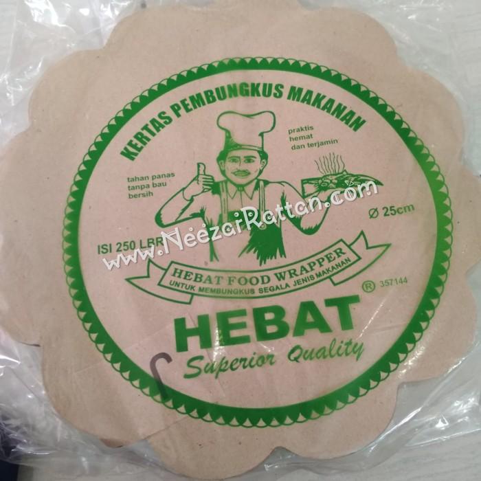 Foto Produk kertas nasi alas piring rotan lidi cantik pembungkus nasi dari Berkah Jaya Rattan