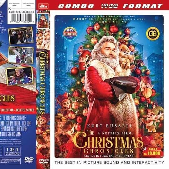The Christmas Chronicles Dvd.Jual The Christmas Chronicles Jakarta Barat Tkb Dvd Shop Tokopedia