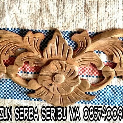 Sketsa Motif Ukiran Kayu Jepara