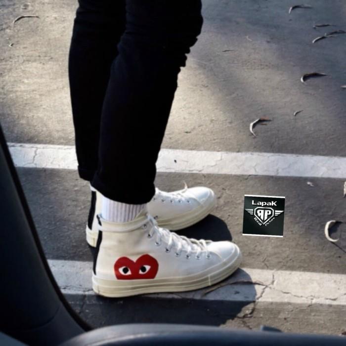photos officielles 2e077 07226 Jual sepatu adidas Sepatu Converse Play CDG Love x Comme des Garcons - DKI  Jakarta - larisku87 | Tokopedia