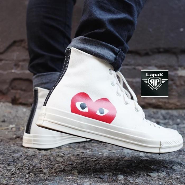 official photos 5955e e0d73 Jual sepatu adidas Sepatu Converse Play CDG Love x Comme des Garcons - DKI  Jakarta - larisku87 | Tokopedia