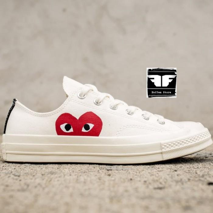 sports shoes fec31 ebf69 Jual sepatu adidas Sepatu Converse x Comme des Garcons PLAY Chuck 70 - DKI  Jakarta - larisku87 | Tokopedia
