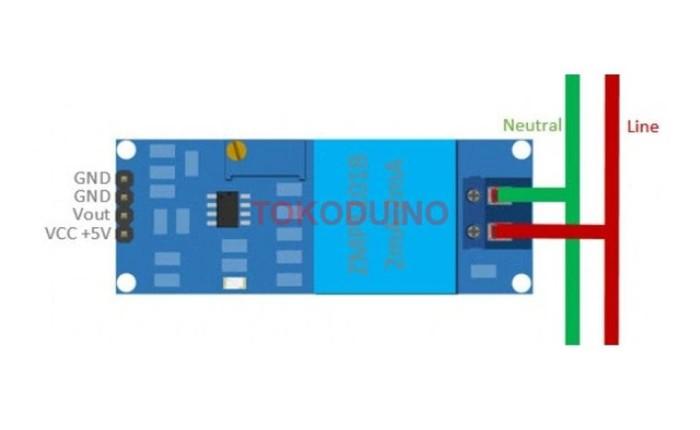 Jual Single Phase Ac Voltage Sensor Zmpt101B Ac Arduino Sensor Module -  ciptateknologi | Tokopedia