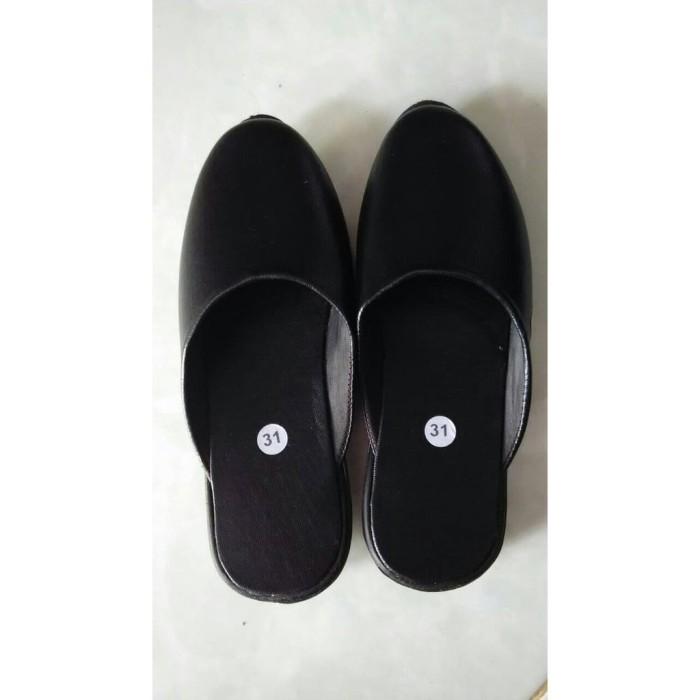 Jual Sandal Anak Laki-Laki Sepatu Selop Hitam Baju Adat Jawa Murah ... dd9127423d