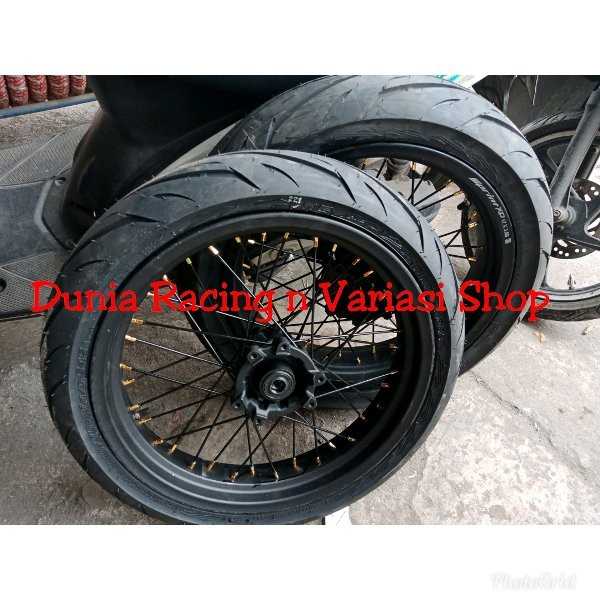 Jual Velg Honda Crf 150 Supermoto Ring 17 Wheelset Supermoto Ring 17