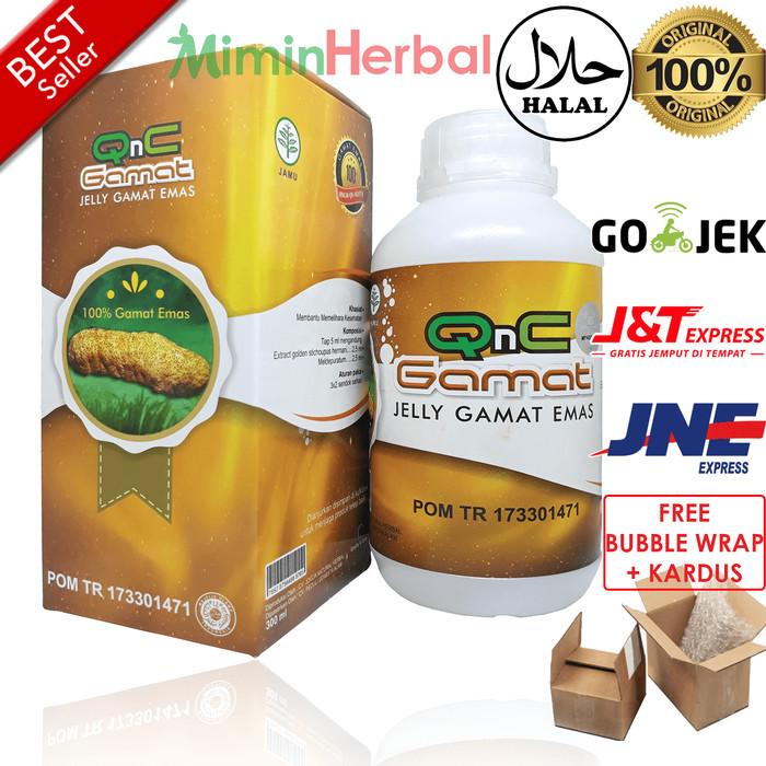 QnC Jelly Gamat Original Dikirim Langsung Dari Gudang