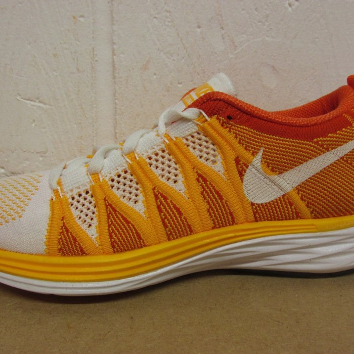 quality design 1bcb1 6a169 620658 101 Size 6   36.5 Womens Nike Flyknit Lunar 2 Running Trainers