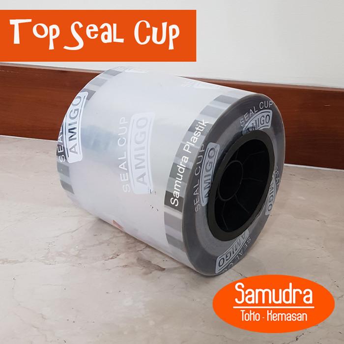 harga Plastik seal cup / tutup gelas / top seal / lid seal polos Tokopedia.com
