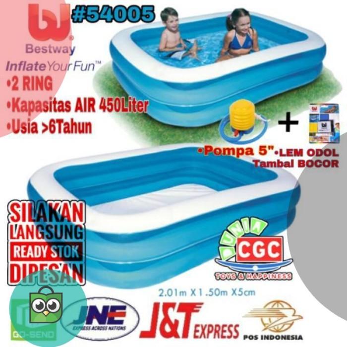 Jual Kolam Renang Bestway 54005 Ukuran 2 Meter Biru Putih Bola Mandi Anak Dki Jakarta Rianah Shop Id Tokopedia