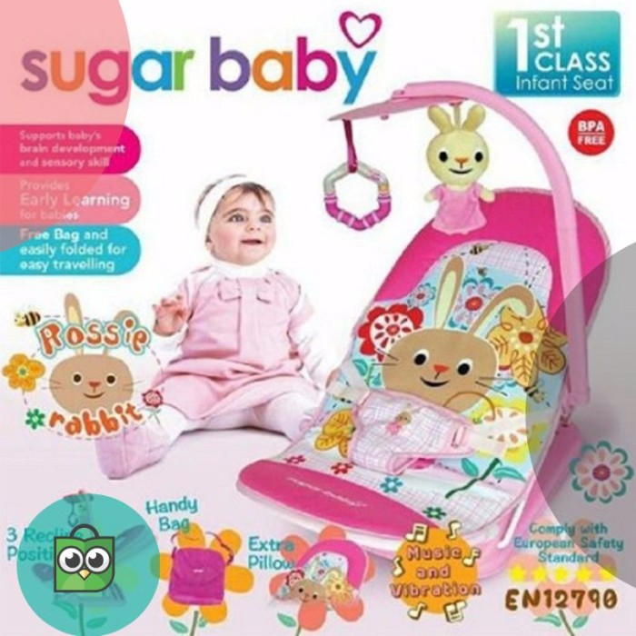 ... Sugar Baby 3 Recline Infant Seat Bouncer Tempat Duduk Bayi