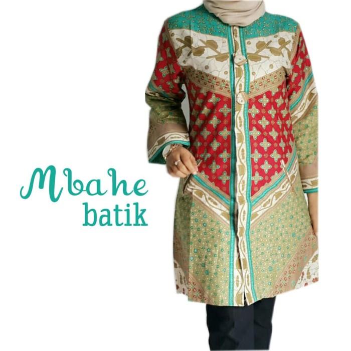 Jual Model Baju Batik Kerja Kantor Kota Pekalongan Mbahe Batik Tokopedia