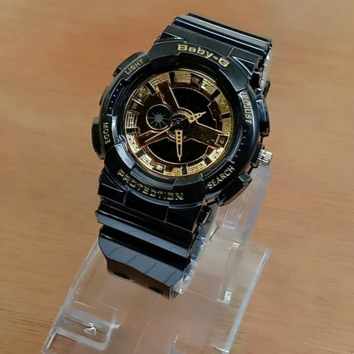 Jual Jam Tangan Wanita Casio Baby-G Dual Time Kw Super Black List ... 2bcb8a1531