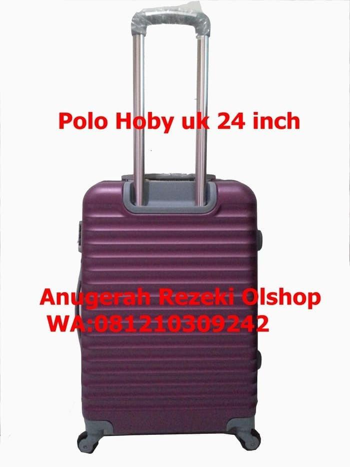 Unik Tas Koper Polo Jockey Ukuran 24 Inch Tipe 006