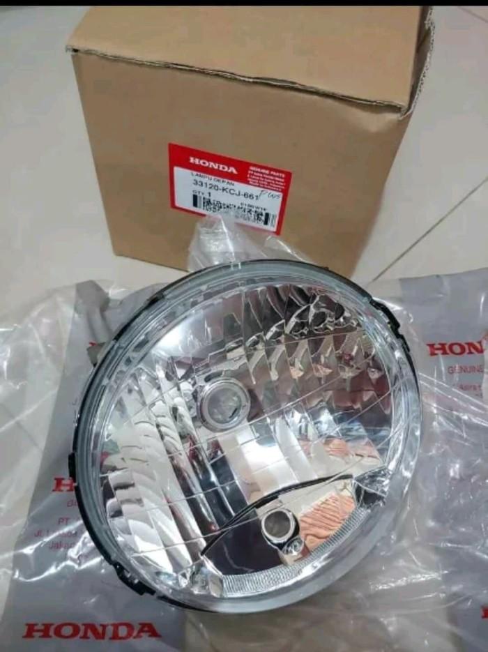 REFLEKTOR LAMPU DEPAN TIGER REVO ORIGINAL AHM