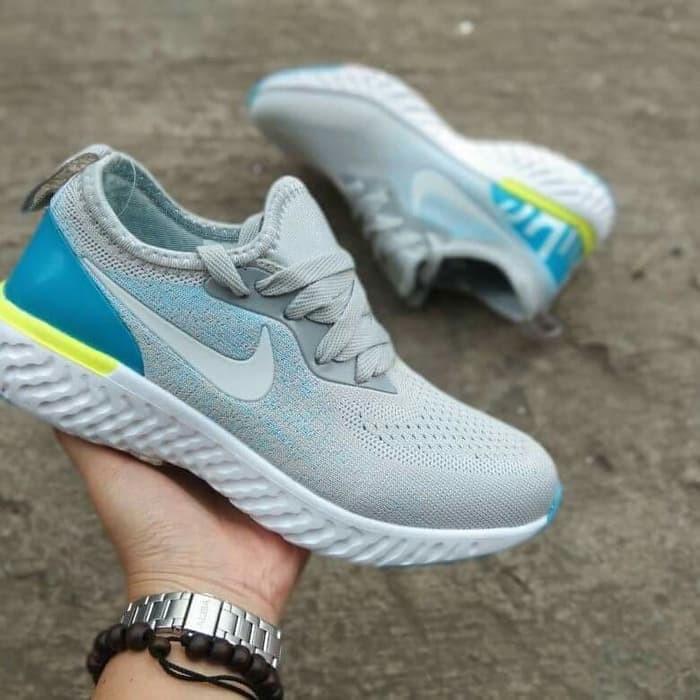 Populer sepatu wanita nike air zoom epick joging running zumba santai