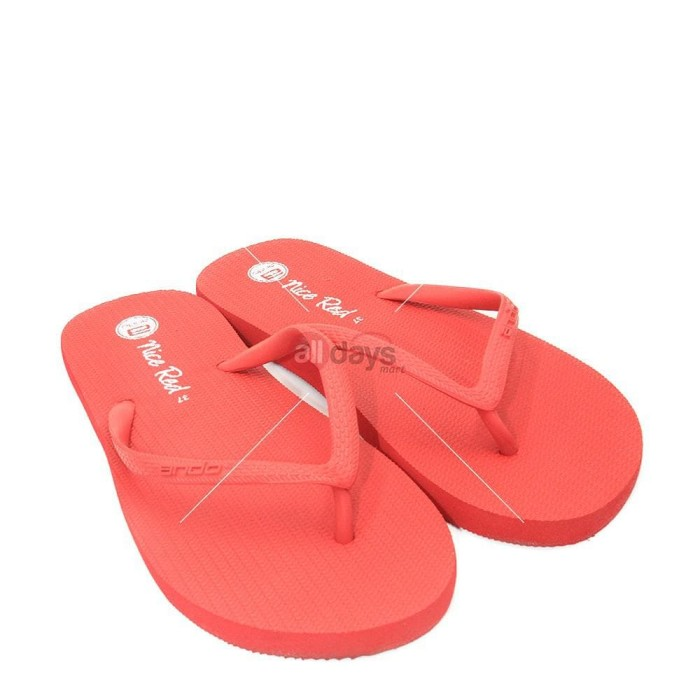 Ando Sandal Jepit Wanita Nice Ladies Size 36-40
