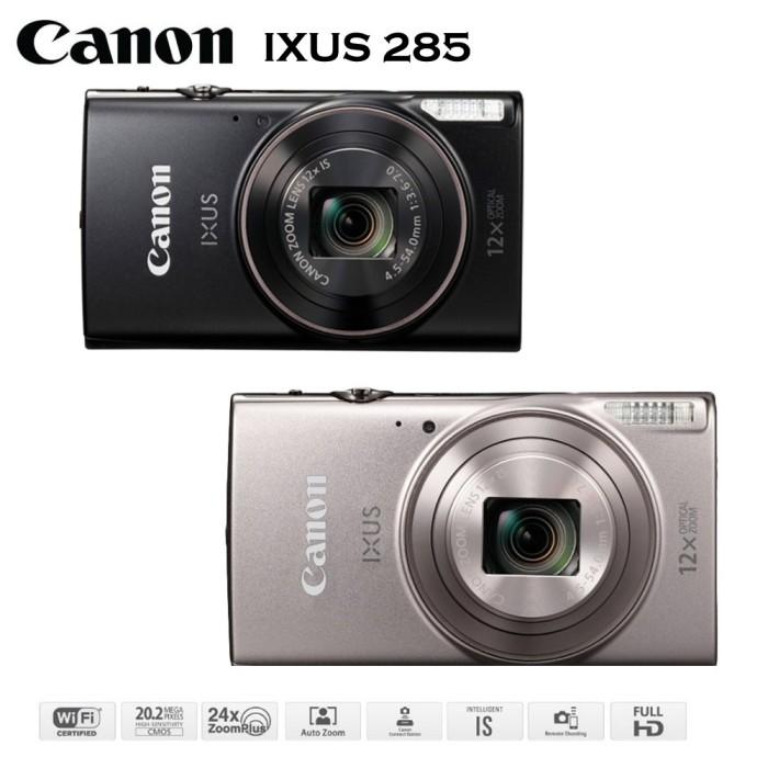 Foto Produk Canon IXUS 285 HS Kamera Pocket BLACK 20.2MP WiFi NFC Resmi Datascrip dari Multi Elektronik Shop