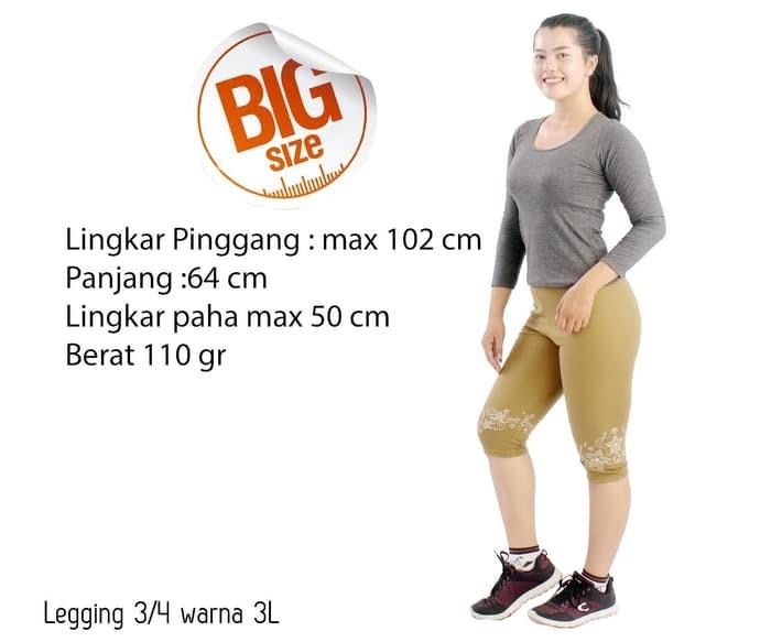 Jual Celana Legging Wanita 3 4 Celana Grosir Bunga Warna Kota Kediri Lapakrama Tokopedia