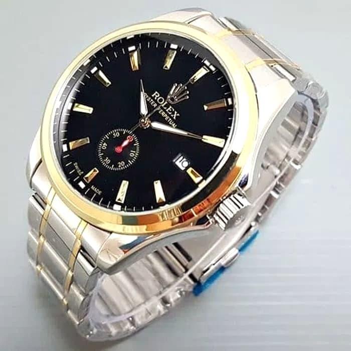 Jual Jam Tangan Pria Automatic Rolex Kualitas Super Tanggal Chrono ... 6f03ad0dcd